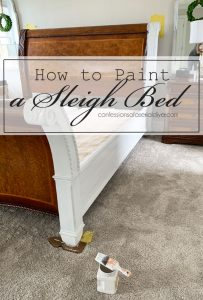 How to Paint a Bed