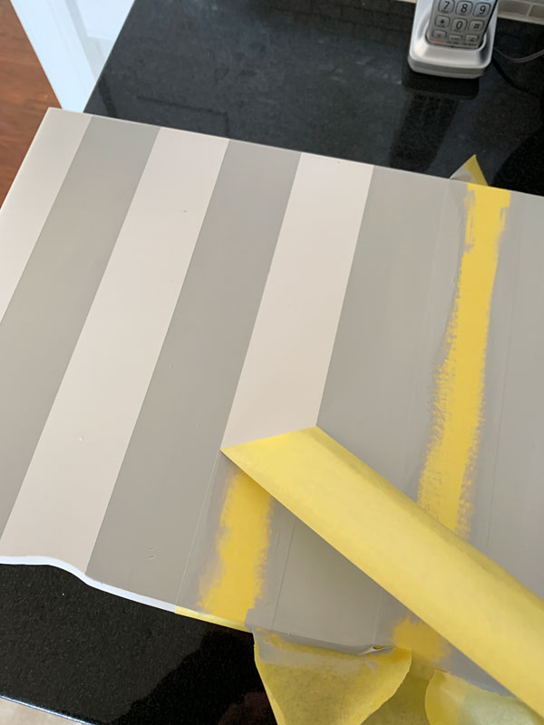 Frogtape for delicate surfaces is my favorite tape for paint projects
