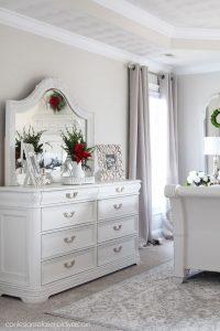 Dresser painted white