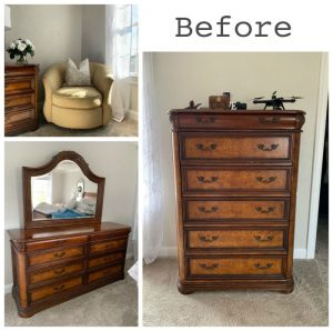 Painted Bedroom Furniture and Master Bedroom Reveal