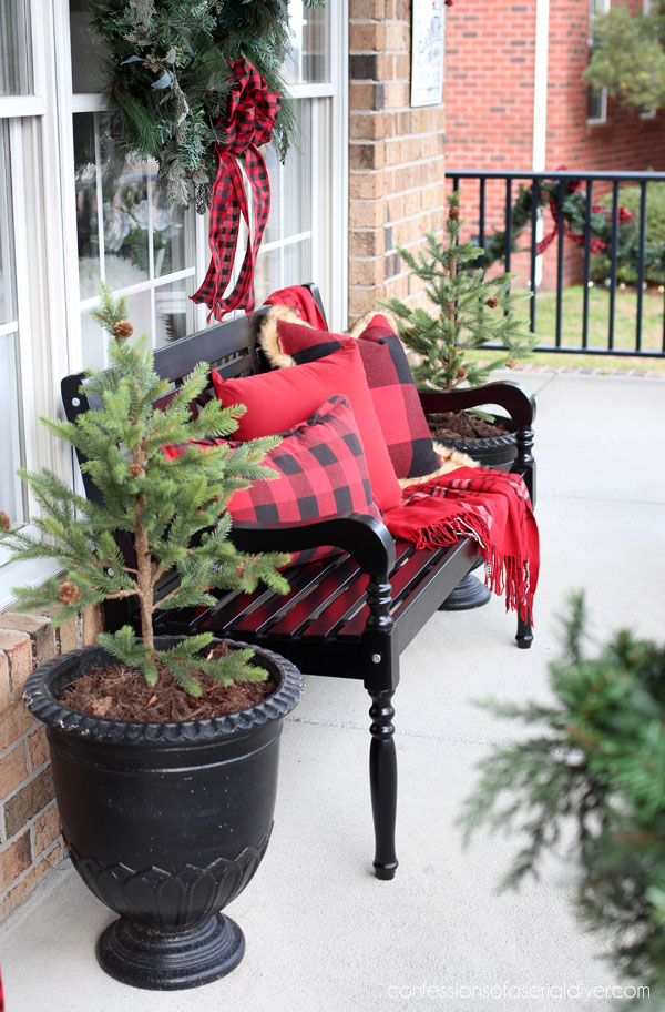 Front Porch Christmas decor