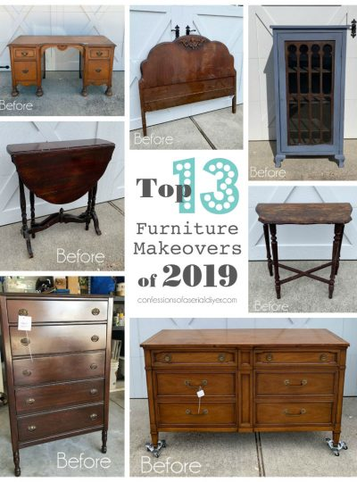 Top Furniture Makeovers of 2019