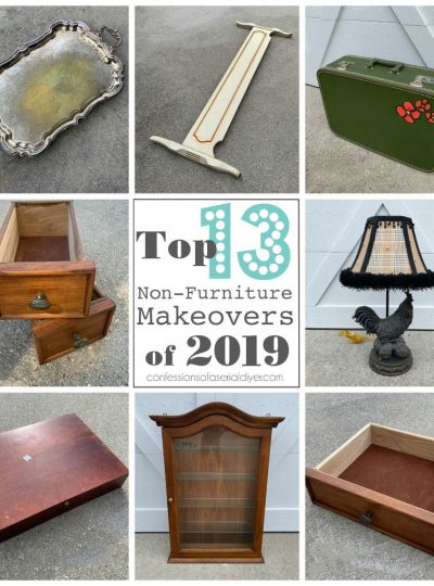 Top Non-Furniture Makeovers of 2019