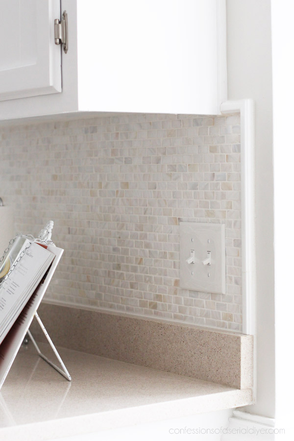 Mother-of-Pearl Backsplash