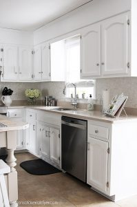 How to Paint Pine Kitchen Cabinets