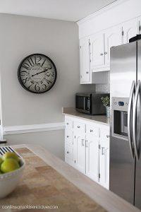 Clock from Hobby Lobby