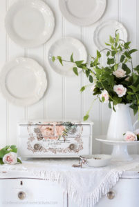 Floral Home, Mixed transfer by Prima Redesign