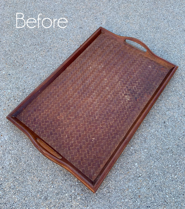$4 Thrift Store Tray Makeover & One More $5 Find!