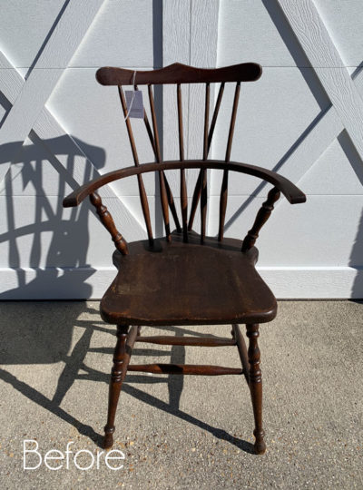Windsor Chair Makeover (& Take Two on a Drop Leaf Table!)