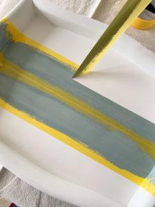 Frogtape for adding stripes