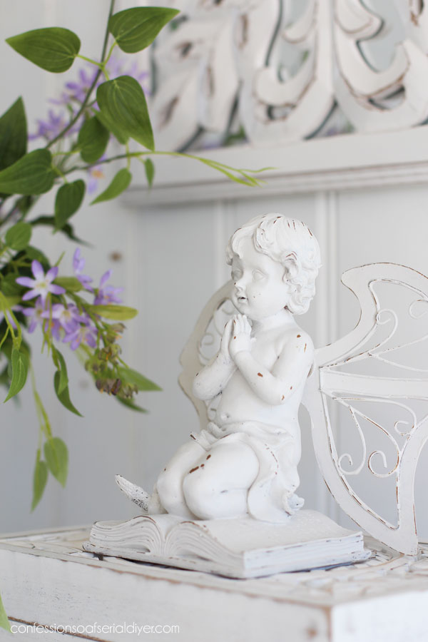 Painted Cherub Angel