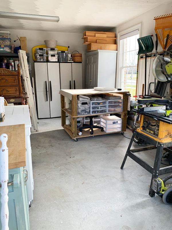 Organizing my workspace