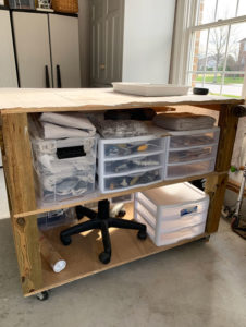 Drawer bins are the perfect way to organize your workspace!