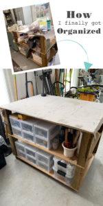 How I finally got my workspace organized!