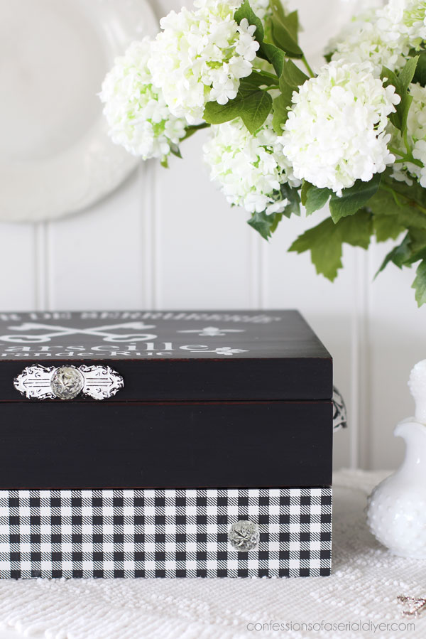 Flatware Box Makeover