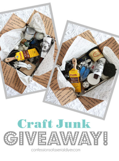Craft Junk Giveaway March 2020
