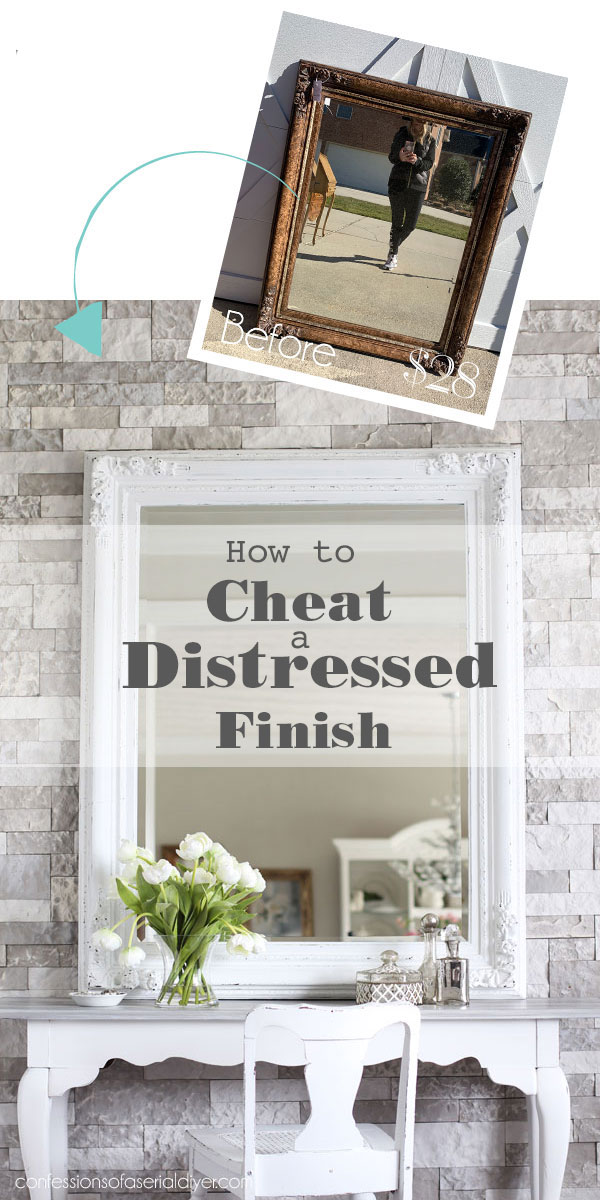 How to Cheat a Distressed Finish