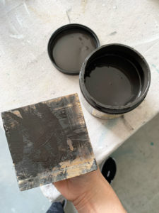 How to cheat a distressed finish!