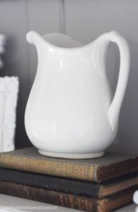 Ironstone pitcher