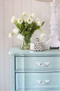 Coastal Painted Night Stand