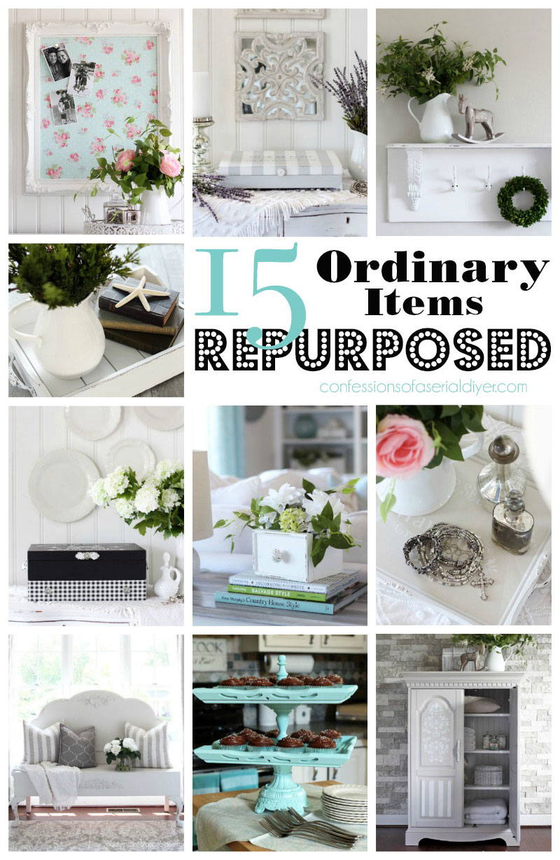 15 Ordinary Items Repurposed