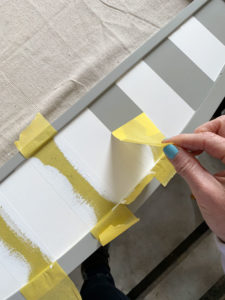 How to add stripes to furniture perfectly every time!