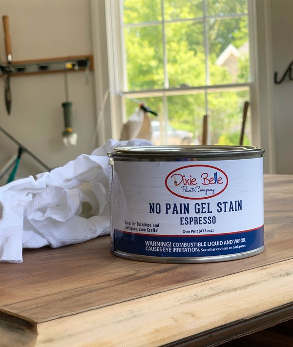 no pain gel stain espresso