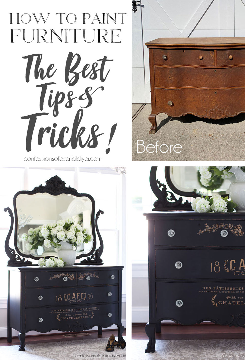 How to Paint Furniture for a flawless finish (The Best Tips & Tricks)