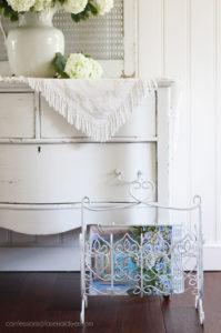 Painting the smalls magazine rack