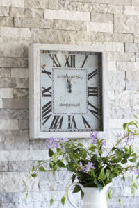 Painting the Smalls #6 Wall Clock