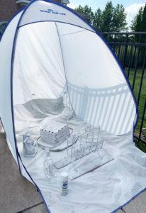 HomeRight Medium Spray shelter
