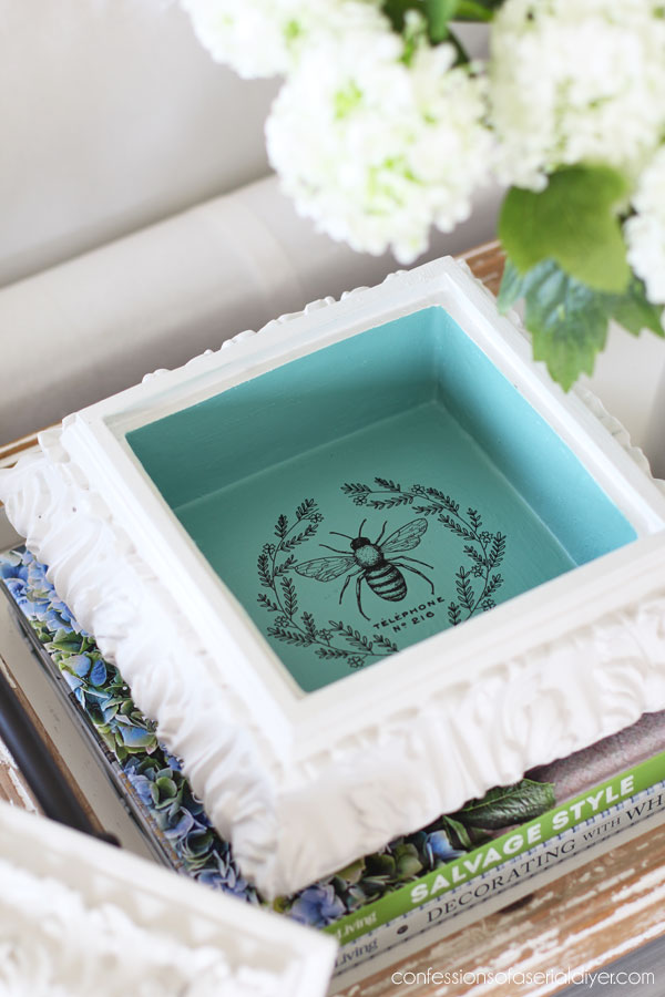 Painting the Smalls/Decorative box