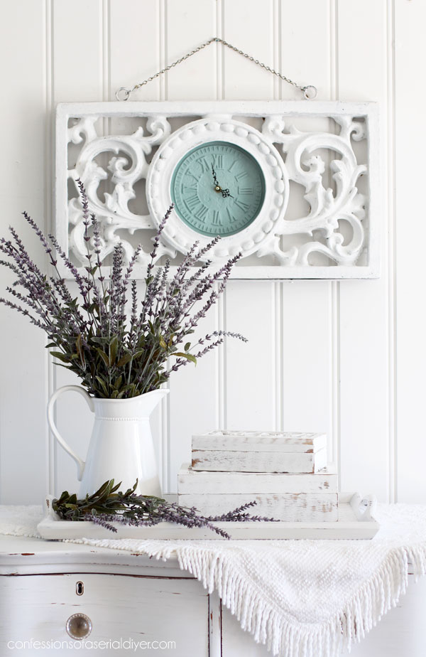Painted clock