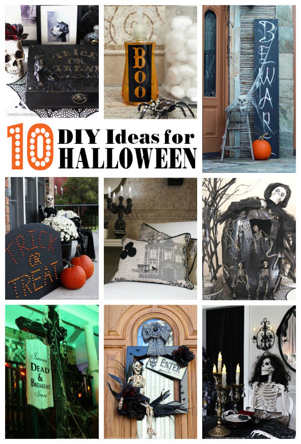 10 Simple DIY Halloween Ideas