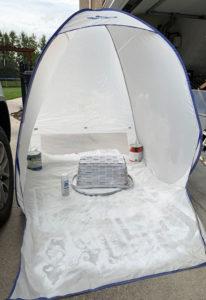 Medium Spray shelter