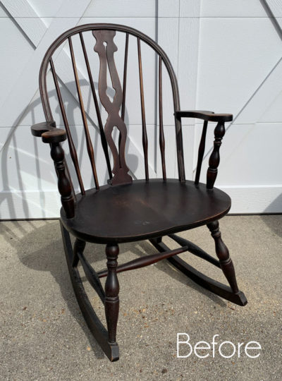 Windsor Rocker Makeover