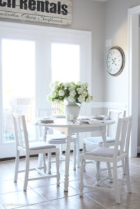 How to paint a kitchen table