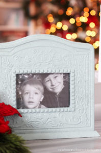 Frame painted for the holidays