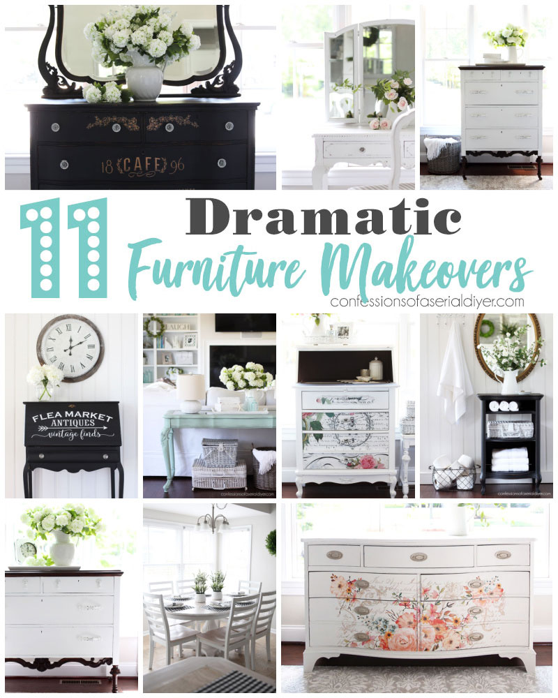 11 Dramatic Furniture Makeovers