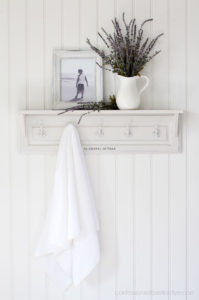 How to turn a cabinet door into a shelf