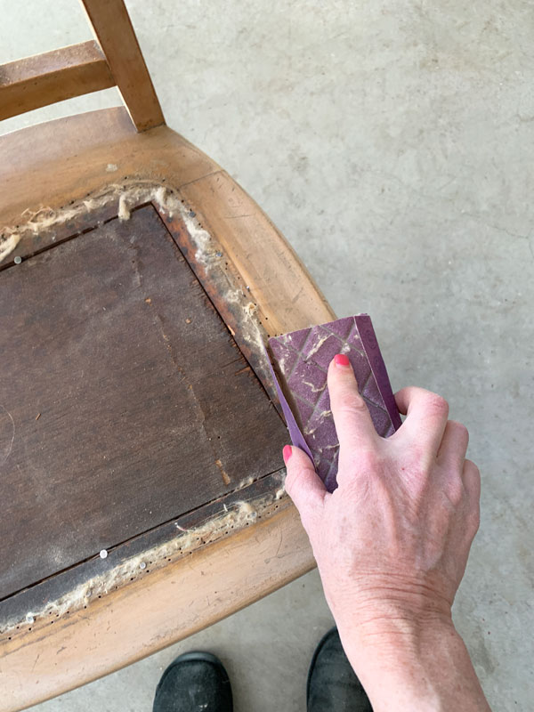 Scuff sand first when using Silk All-in-One Mineral Paint