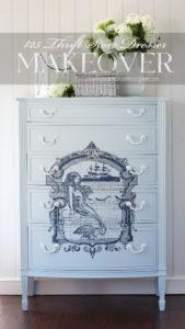 Dresser painted in Bay Breeze by Silk