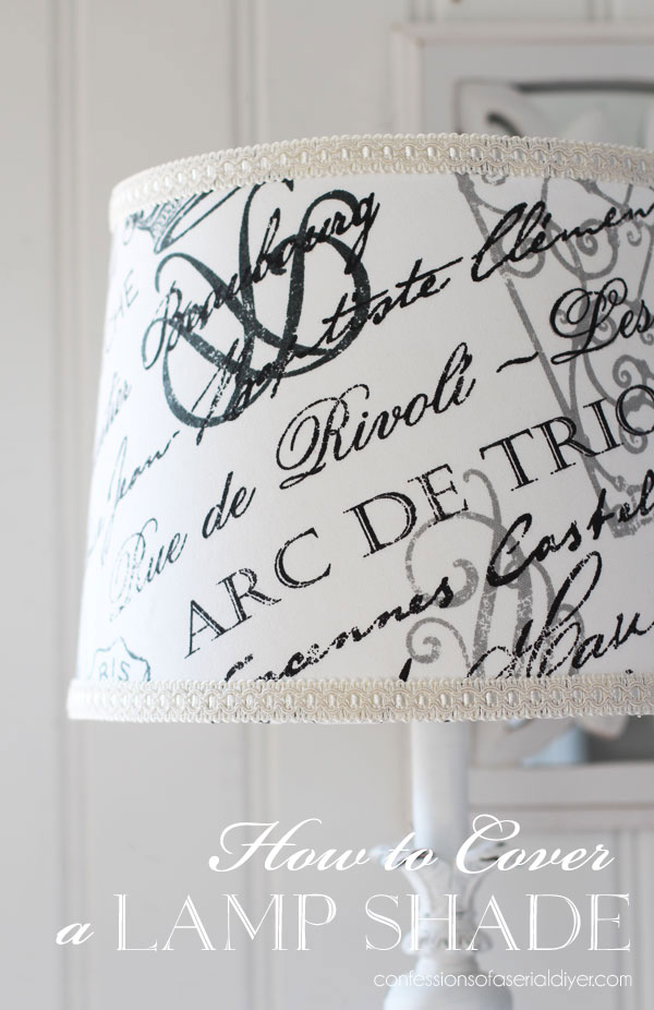 How to Cover a Lamp Shade
