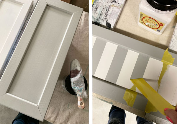 Upcycled Cabinet Doors