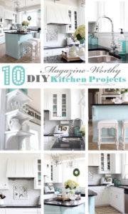 10 Magazine- Worthy DIY Kitchen Projects