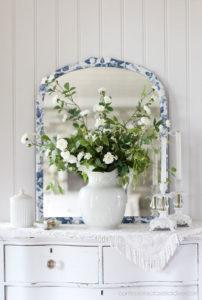 Decoupaged Mirror