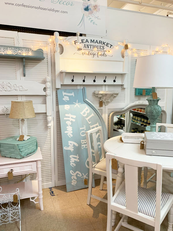 Antique Mall Booth Idea
