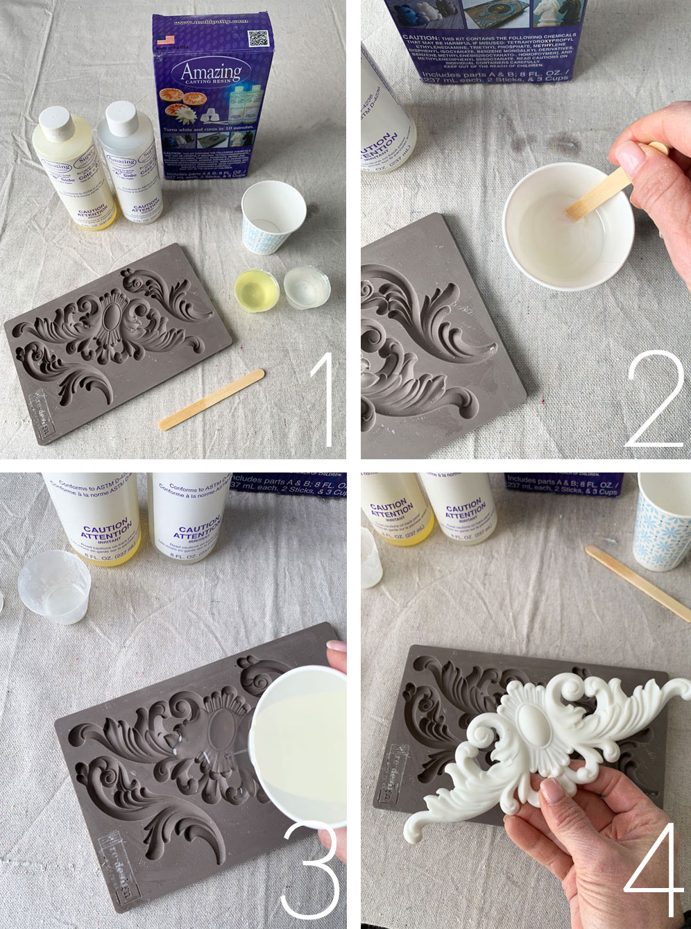 How to use Amazing Casting Resin