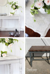 How to Apply Transfers to Furniture