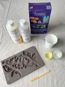 Amazing Casting Resin and Decor Moulds make fantastic embellishments!
